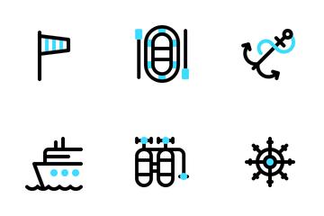 Sea Life Tiny Icon Pack