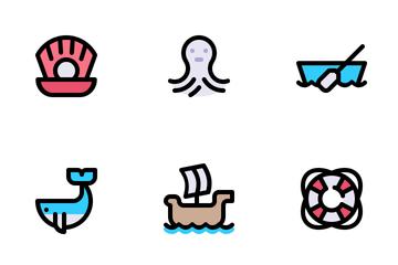 Sea Life - Tiny Icon Pack