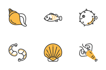 Seafood Icon Pack