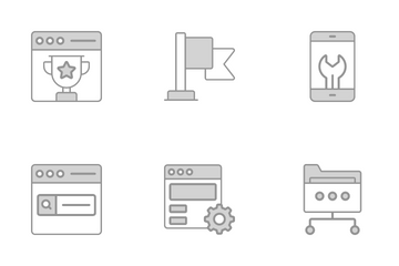 Search Engine Optimization Icon Pack