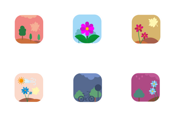 Season And Nature  Icon Pack