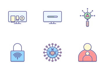 Security And Antivirus Icon Pack