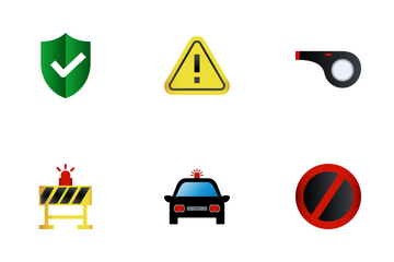 Security Flat Icon Pack