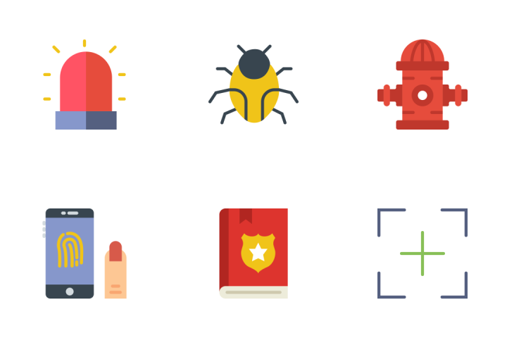 Security - Flat Icon Pack