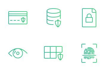 Security & Protection Set Icon Pack
