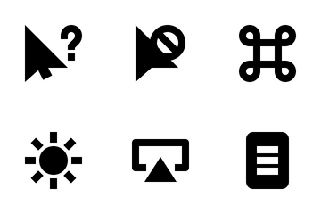 Selection And Cursor Icon Pack
