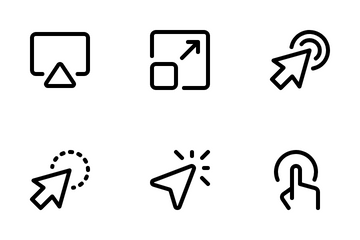 Selection And Cursors Icon Pack