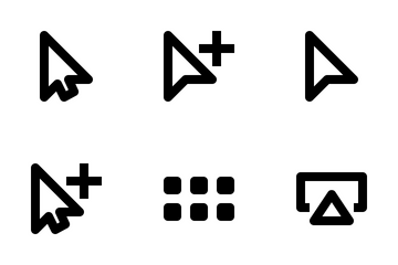 Selection & Cursors Icon Pack