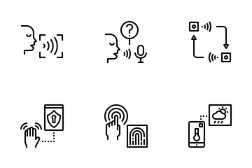 Sensorization Of Things Icon Pack
