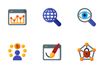 Seo 4 Icon Pack