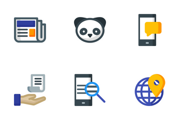 Seo 5 Icon Pack