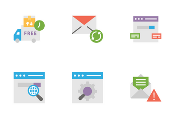 SEO - 6 Icon Pack