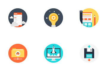 SEO And Development Icon Pack