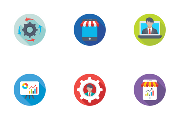 Seo And Digital Marketing Icon Pack
