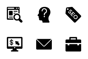 SEO And Digital Marketing Vol 2 Icon Pack
