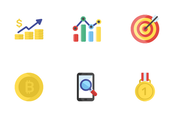 Seo And E-Commerce Icon Pack