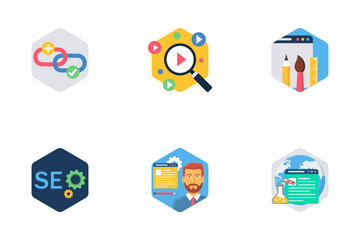 Seo And Internet Icons Icon Pack