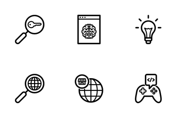 SEO And Internet Marketing Icon Pack