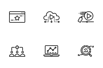 SEO And Internet Marketing Vol 1 Icon Pack