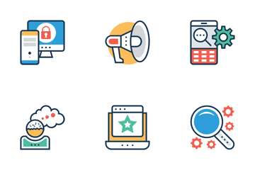 Seo And Marketing 1 Icon Pack