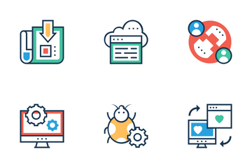 Seo And Marketing 3 Icon Pack