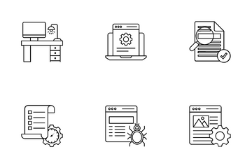 SEO And Web Icon Pack