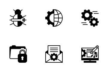 SEO And Web Development Icon Pack
