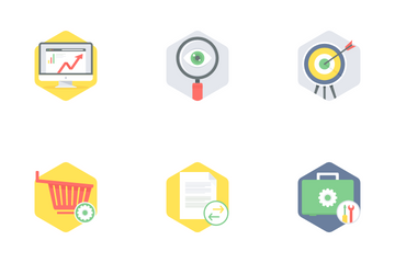 Seo And Web Development Part 1 Icon Pack