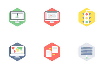 Seo And Web Development Part 2 Icon Pack