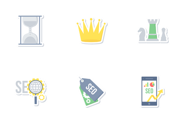 Seo And Web Development Part 3 Icon Pack