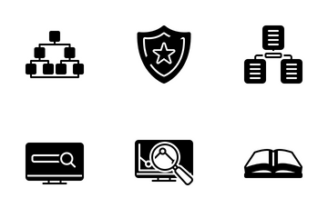 Seo And Web Optimization 02 Icon Pack