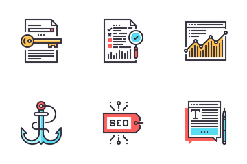 SEO And Web Optimization Icon Pack