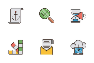 Seo And Web Optimization Vol.5 Icon Pack