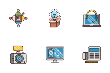 Seo And Web Optimization Vol.6 Icon Pack