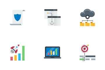 Seo And Web Optimization Vol.7 Icon Pack