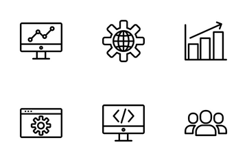 SEO And Website Icon Pack