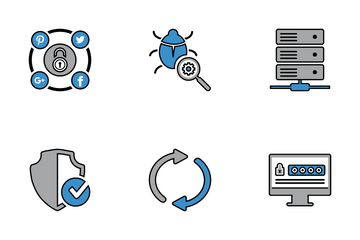 Seo Business Market Icon Pack