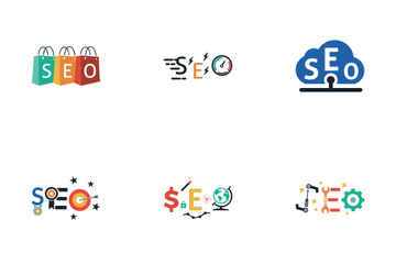 Seo Concept Icon Pack