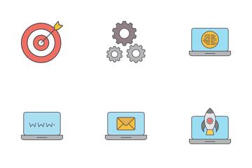 Seo & Devolpment  Icon Pack