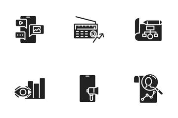 SEO & Digital Marketing Icon Pack