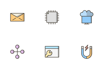 Seo Filled Outline Icon Pack