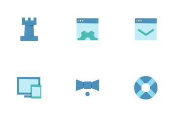 SEO Flat Icon Pack