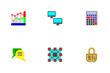 SEO Flat  Icon Pack