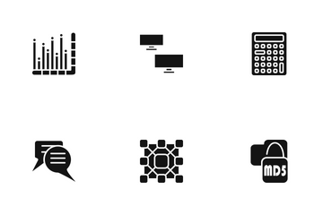 SEO Glyph  Icon Pack