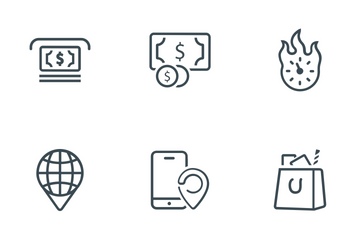 SEO & Internet Marketing Icon Pack