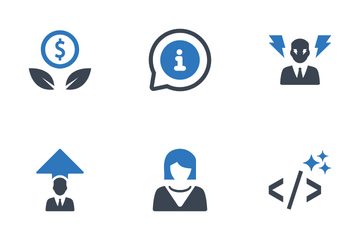 SEO & Internet Marketing V12 Icon Pack