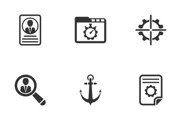 SEO & Internet Set - 4 Icon Pack