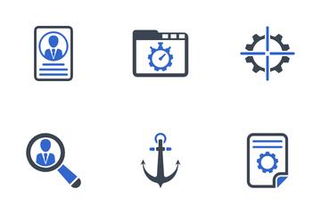 SEO & Internet Set - 4 Icon Pack