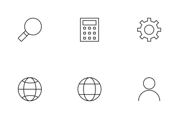 Seo Line Icon Pack