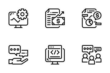 SEO Marketing  Icon Pack